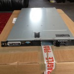 2012 - The first Dell PowerEdge server (a 1950 II) before the drives were installed