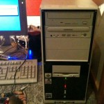 2010 - The AMD Athlon desktop server which originally broadcast OP-EZY International Pirate Radio 1